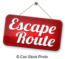 Escape route Clip Art and Stock Illustrations. 479 Escape route.
