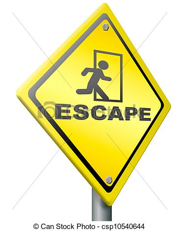 Escape Route Clipart.