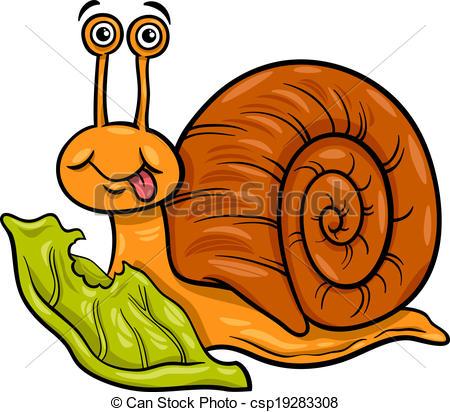 Escargot Clipart.