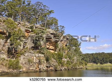 Stock Image of Shoalhaven River Escarpment k5280765.