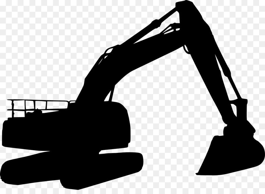 Silhouette Escavatore Caterpillar Inc. Clip art.