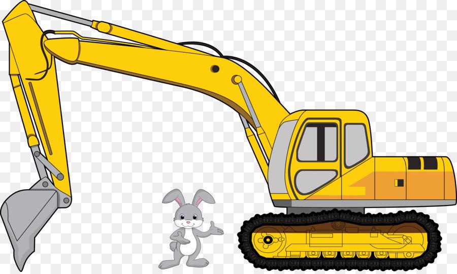 Escavatore del Macchinario Pesante Bulldozer clipart Cartone.