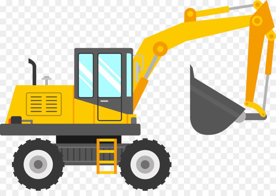 Clip art Escavatore JCB Openclipart Backhoe.