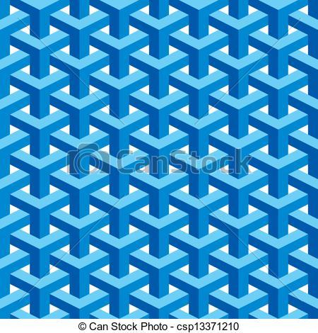 Vector Clip Art of Seamless Escher Pattern.