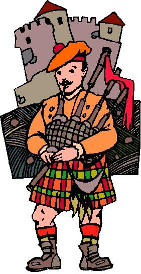 Escocia Clip Art.