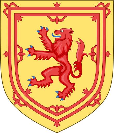 Escudo de Escocia.