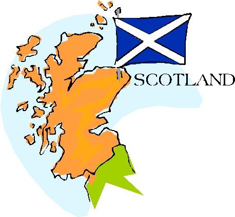 Escocia Clip Art Gif.