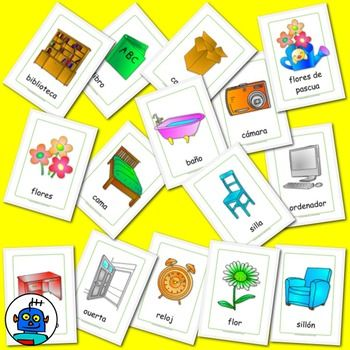 1000+ images about Spanish Flash Cards and Clip Art on Pinterest.