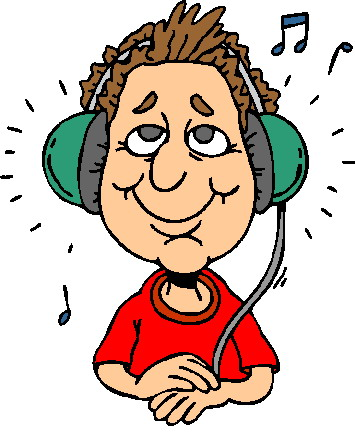 Free Listening To Music Clipart, Download Free Clip Art.