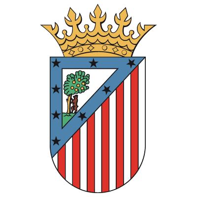 Atletico madrid old Logos.
