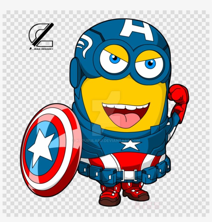 Minion Captain America Clipart Captain America Minions.