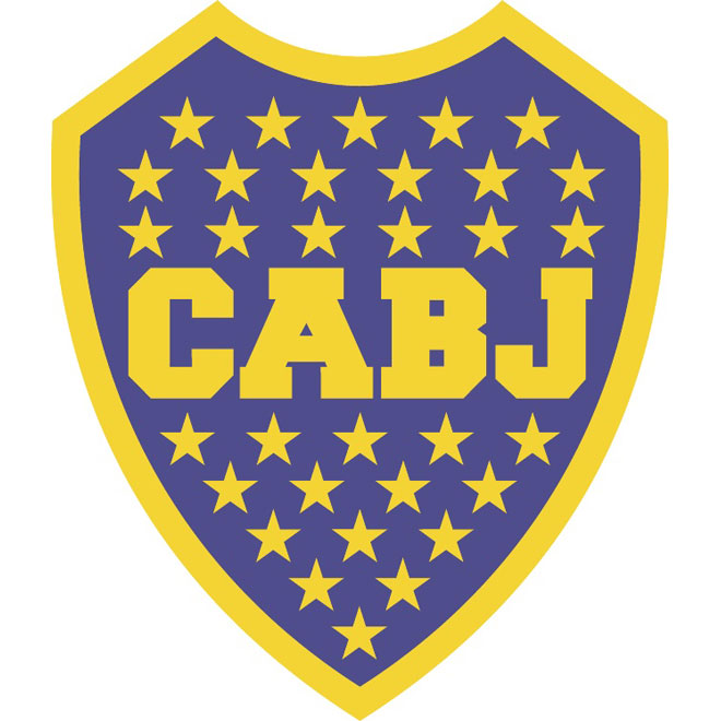 Boca Juniors vector logo.