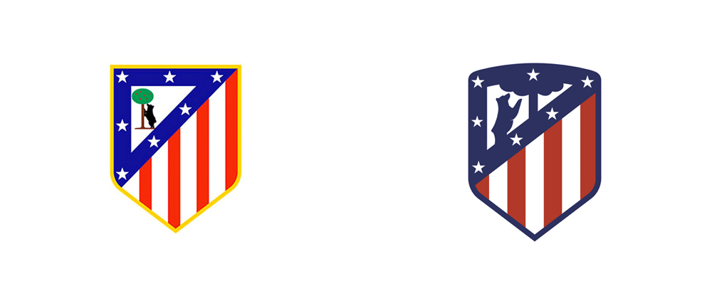 Brand New: New Logo for Atlético Madrid by Vasava.