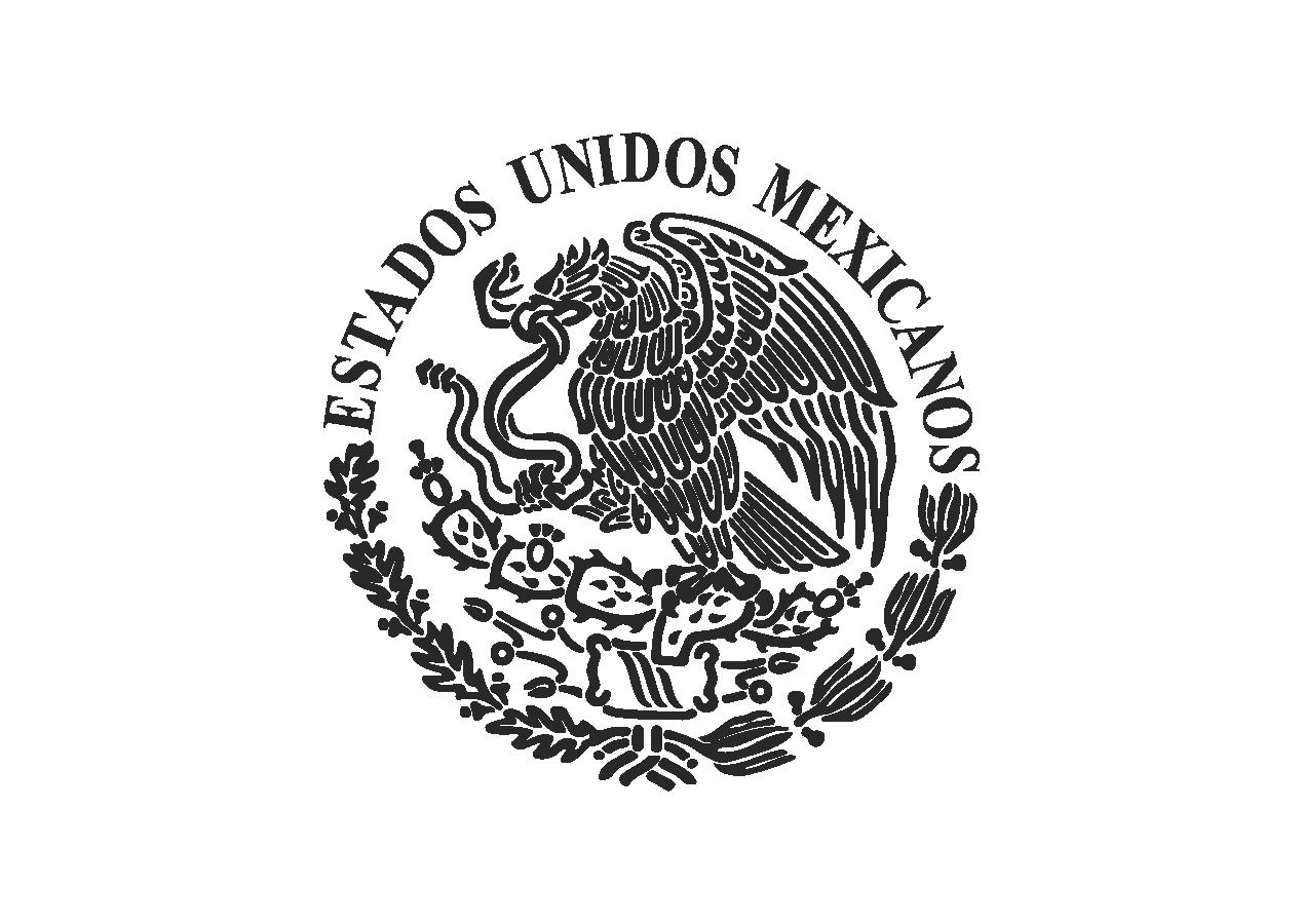 Escudo Nacional Mexicano Logo Vector.