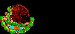 Escudo Nacional Mexicano™ logo vector.