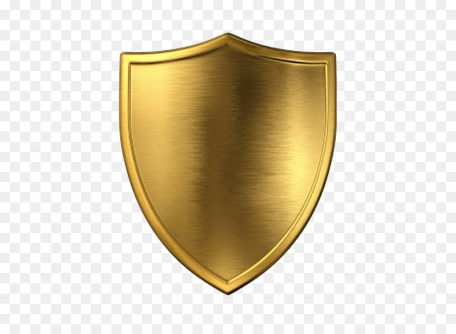 Download Free png Escudo Computer file Gold Shield Png Image Picture.