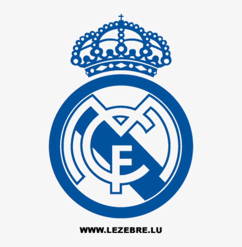 Real Madrid Football Club Decal.