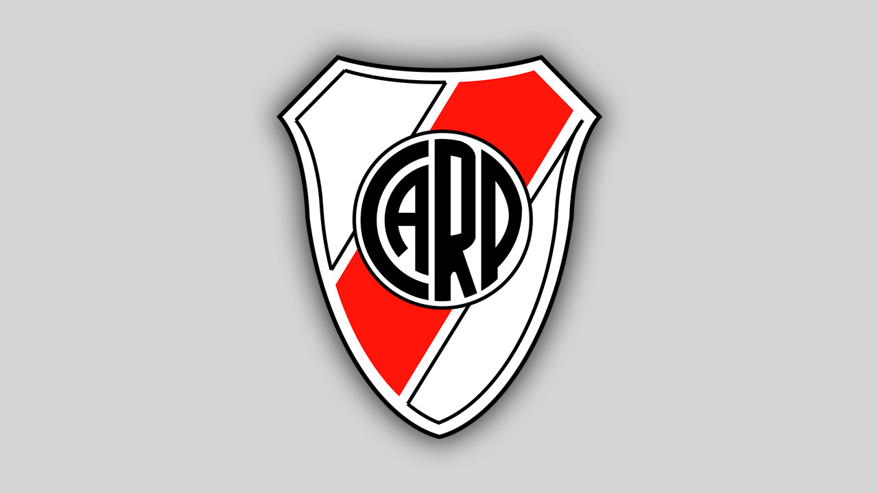 Logo River Plate Brasão em PNG.