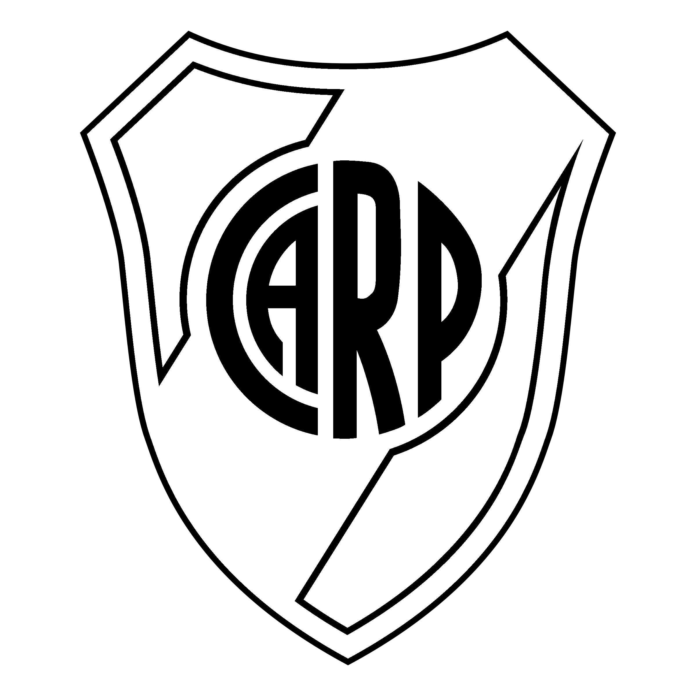 Club Atletico River Plate Logo PNG Transparent & SVG Vector.