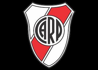 Vector logo download free: River Plate escudo Logo Vector.