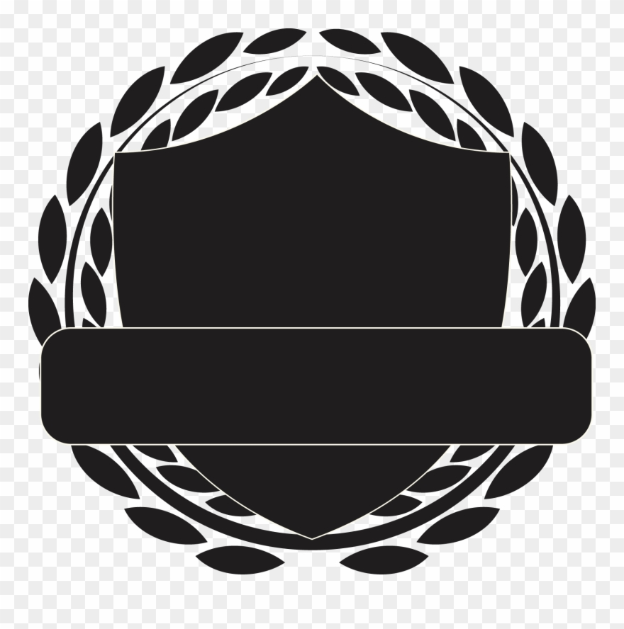 Shield Black And White Pattern Transprent Png.