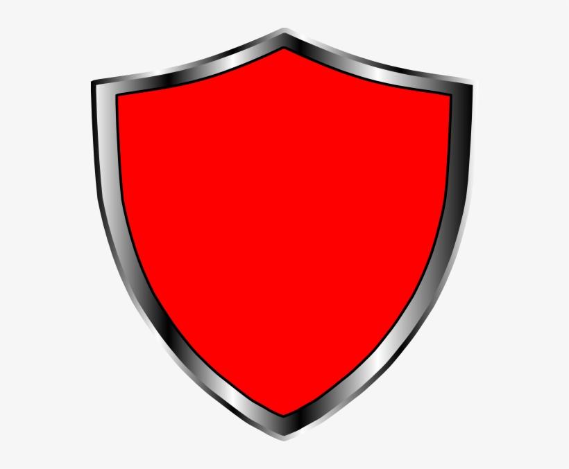 Escudo Medieval Vermelho Clip Art At Clker.