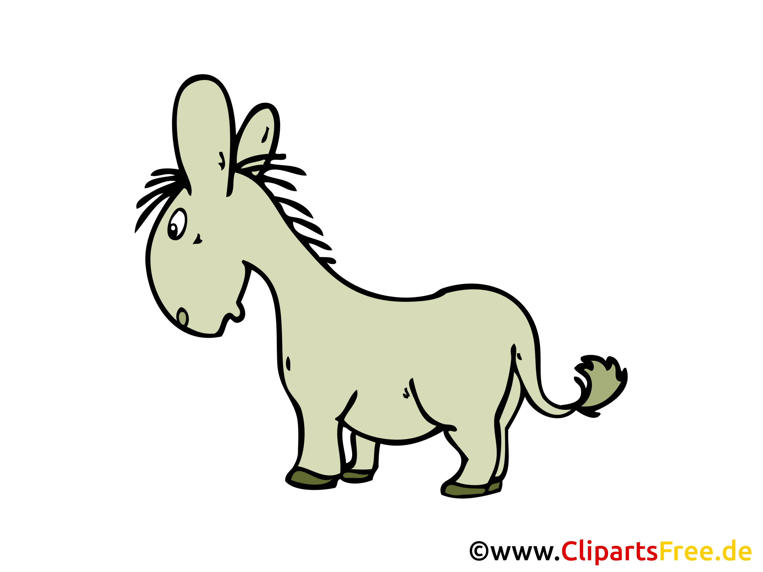 Clipart esel 2 » Clipart Station.
