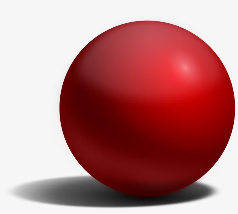 Esfera Roja Png.