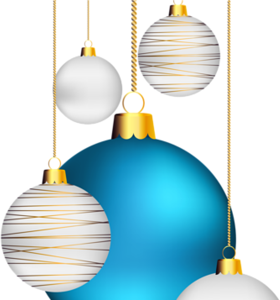 Holiday Ornaments Clipart Christmas Balls Transparent.
