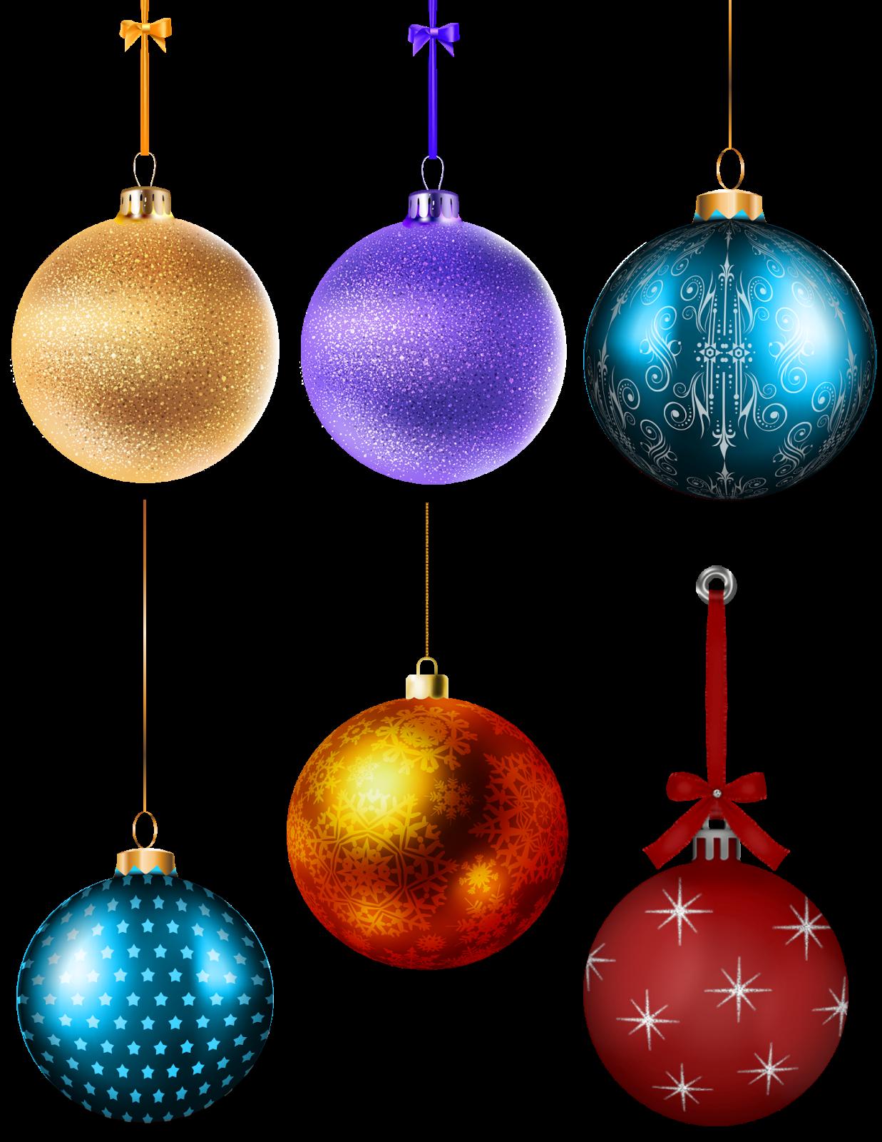 Cosas en PNG: Esferas navideñas.