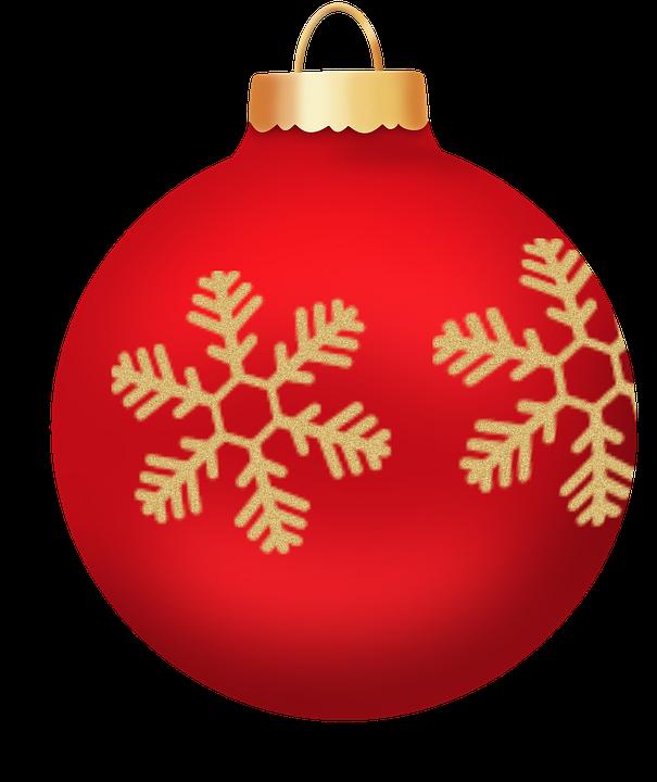 Esfera Roja Esferas Png Navidad.