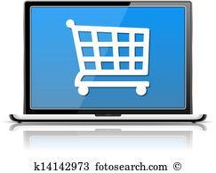 E shop Clip Art Vector Graphics. 12,211 e shop EPS clipart vector.