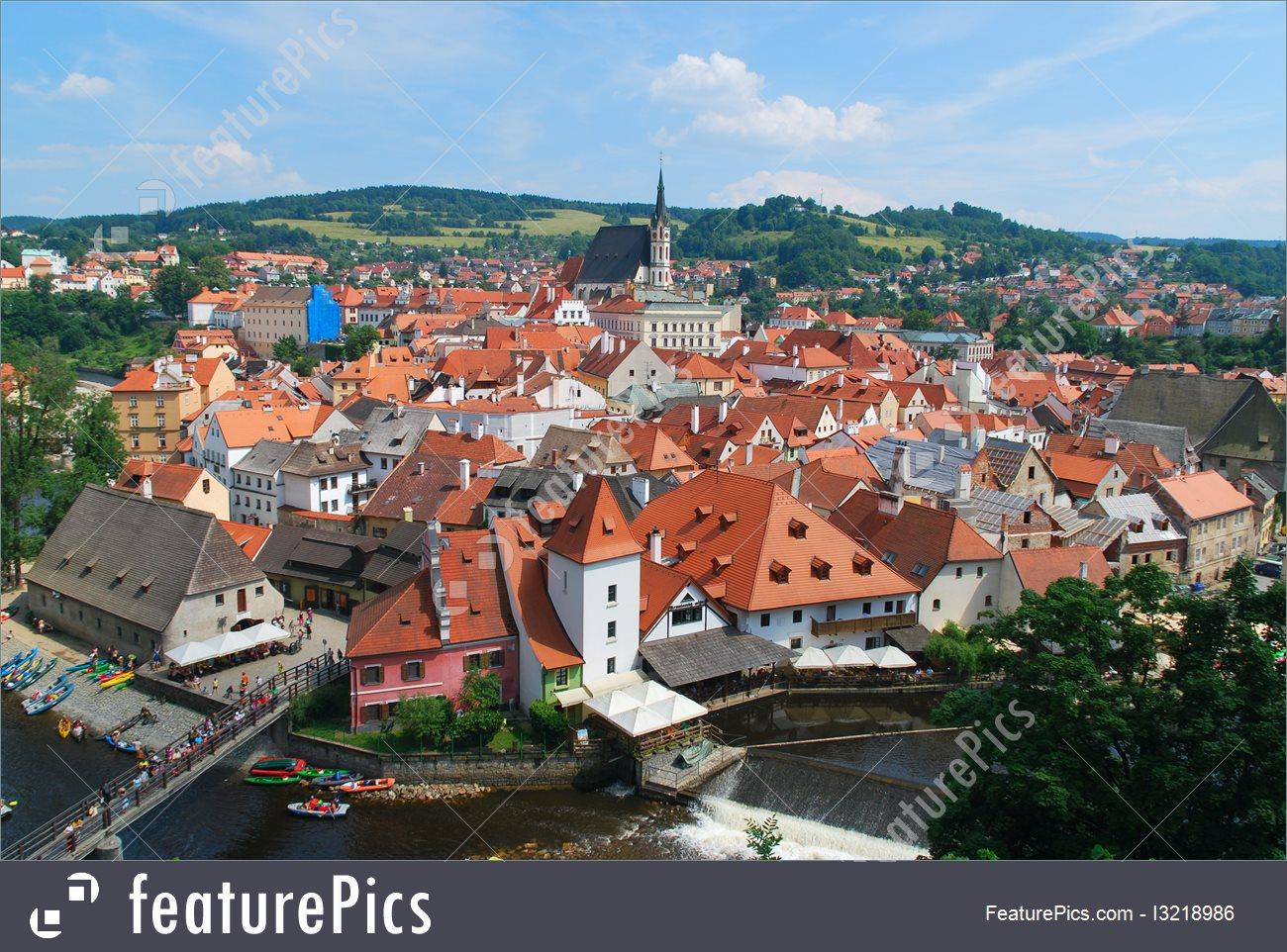 Europe: Cesky Krumlov, Czech Republic.