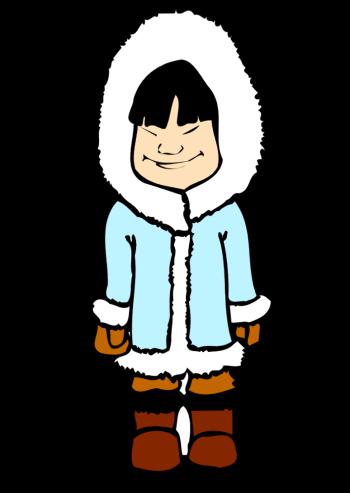 Eskimo Clipart.