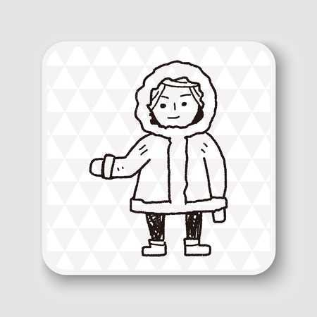 Eskimo clipart black and white 6 » Clipart Portal.