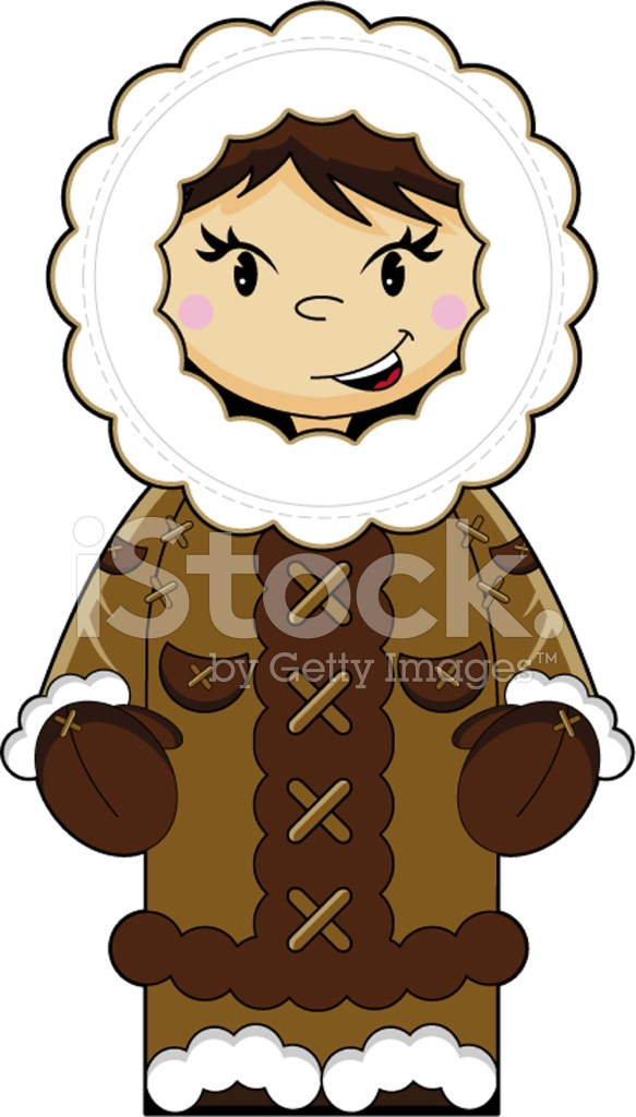 Cute Inuit People Clipart & Free Clip Art Images #28844.