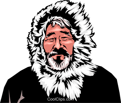 Download Free png Eskimo man Royalty Free Vecto.