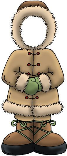 Eskimo outfit clipart.
