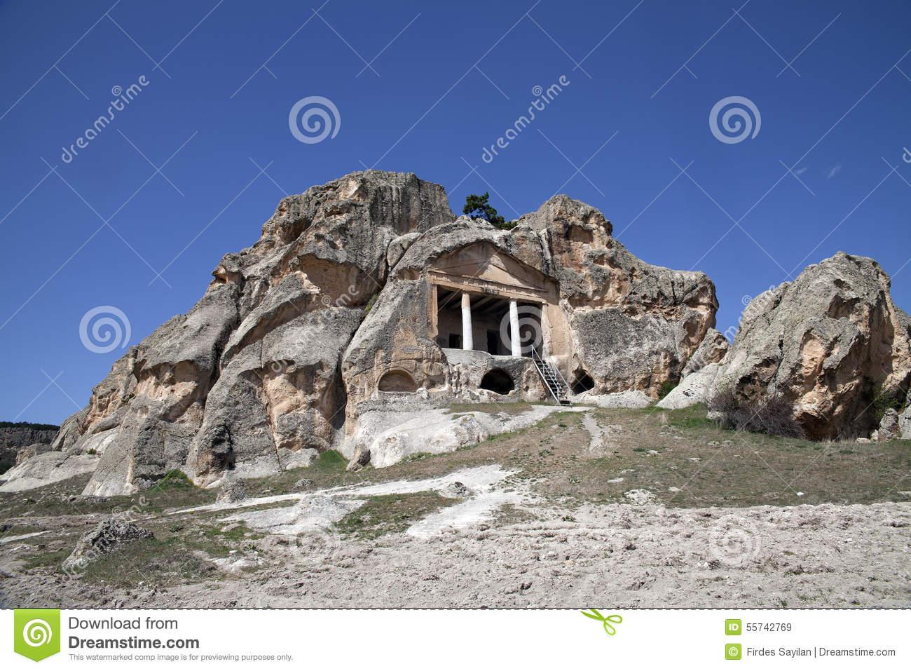 Phrygian Valley In Turkey . Midas City, Eskisehir. Stock Photo.