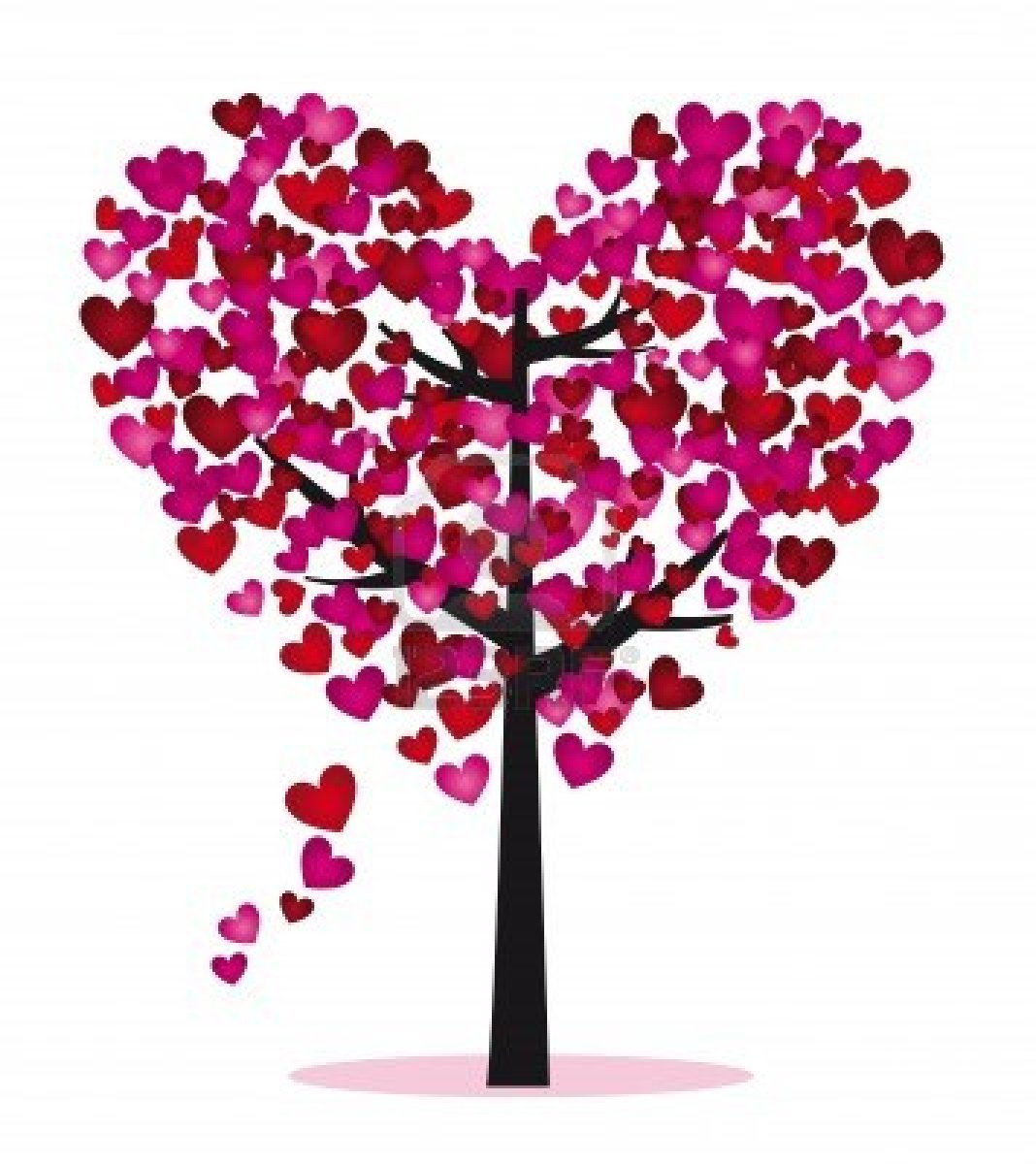 Heart Tree Clipart.