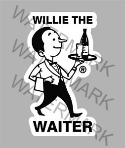 Details about WILLIE THE WAITER WAIKATO BEER STICKER FOR ESKY TOOLBOX  FRIDGE MANCAVE ETC.