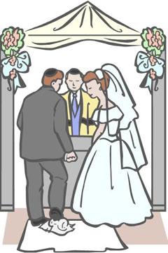 Jewish Wedding Clipart & Clip Art Images #20935.