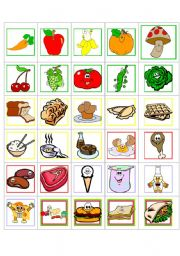 English worksheets: the Food worksheets, page 330.