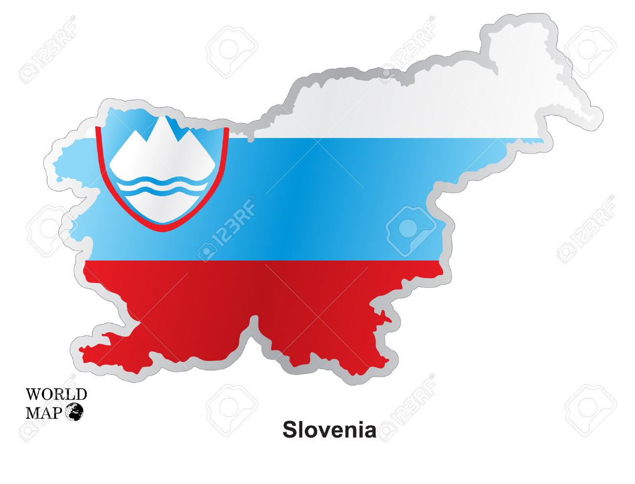 Mapa Eslov Royalty Free Cliparts, Vetores, E Ilustrações Stock.