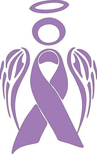 Barking Sand Designs Esophageal Stomach Cancer Ribbon Angel Awareness.