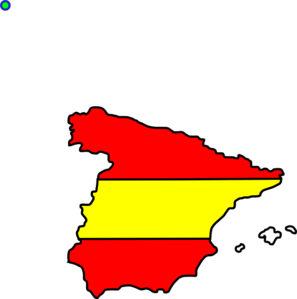 Spanish Flag Clipart.