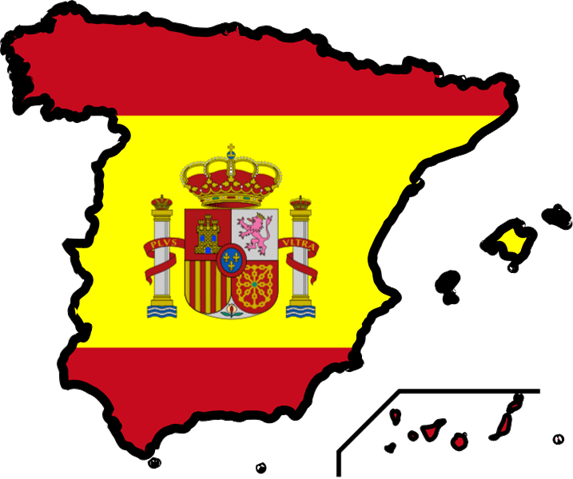 Free spain flag clip art.