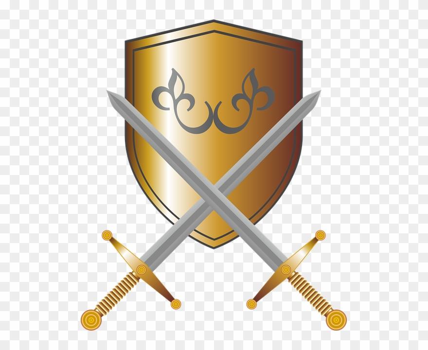 Escudo E Espada Png Clipart (#793878).
