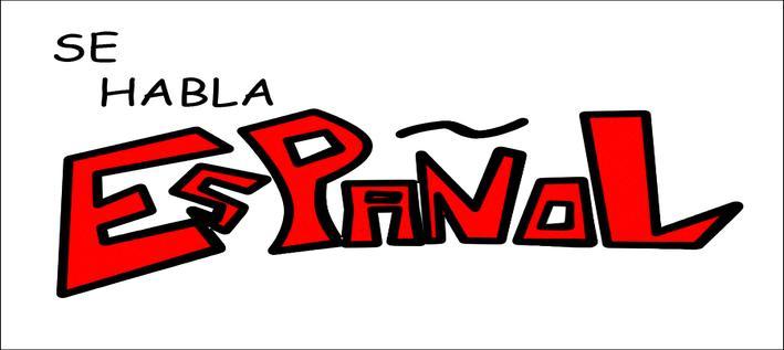 SE Habla Espanol Clip Art.
