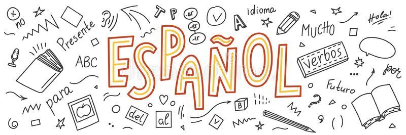 Espanol Stock Illustrations.